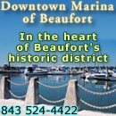 The Downtown Marina Of Beaufort, SC, 1006 Bay Street Beaufort, SC 29902 (843) 524-4422 or Marker #239 on ICW