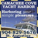 Welcome to Camachee Cove Yacht Harbor! Located in America's oldest city- St. Augustine, Florida- Camachee Cove is a fully protected marina adjacent to the ICW, and less than a mile from the St. Augus