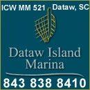 Dataw Island Marina, 100 Marina Drive, Dataw Island, SC 29920 Mile Marker 521, 843 838 8410