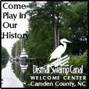 Set in beautiful Camden Count, NC, the Dismal Swamp Canal Welcome Center provides free dockage for cruisers' on the Dismal Swamp AICW Alternate Route