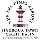 Harbour Town at Hilton Head, with its familiar red-and-white-striped lighthouse, is a fine resort marina with an enormous number of amenities.