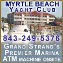 Myrtle Beach Yacht Club is unmatched for its Lowcountry charm and gracious hospitality.