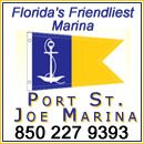 The Port St. Joe Marina is at the heart of Florida's Forgotten Coast, on the eastern shore of pristine St. Joseph Bay on Florida's northern Gulf Coast. Located between Panama City and Apalachicola, Fl