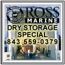 Telephone: (843)559-0379 | FAX: (843)559-3172 | Address: 2676 Swygert Blvd., John's Island, SC 29455 | E-mail: info@rossmarine.com | We are the Southeast's premiere yacht repair facility located on th