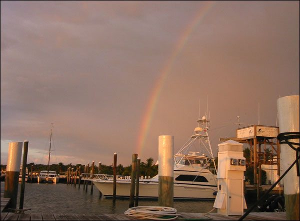A POT OF GOLD IN MARSH HARBOR.