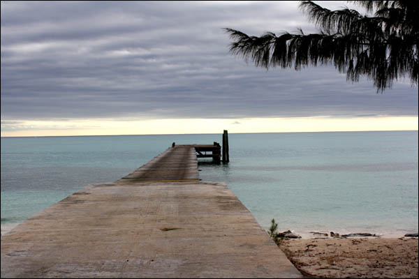 Government Dock, Rum Cay, Bahamas