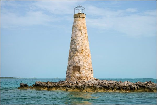 Little Pipe Cay Lighthouse
