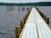 Belhaven Second Town Dock - Under Construction (Courtesy Chuck Baier and Susan Landry)