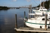 Cape Fear Marina - Bennett Brothers Yachts - Looking Upstream