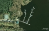 Dowry Creek Marina - Google Earth