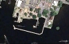 Edenton Town Docks - Google Earth Image