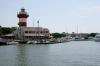 Entering Harbour Town Yacht Basin