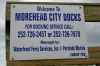 Morehead City Docks Sign