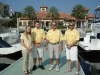 The Welcoming Crew at Riviera Dunes Marina
