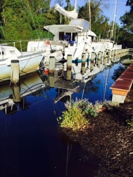 Shared Photo: Dismal Swamp Canal Welcome Center Dock