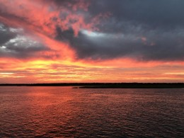Shared Photo – Sunset at Bird Island, NC