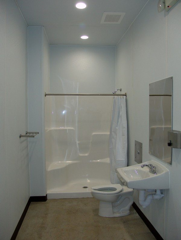 One of the New Elizabeth City Showers
