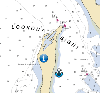 Cape Lookout Bight - Click for Chartview