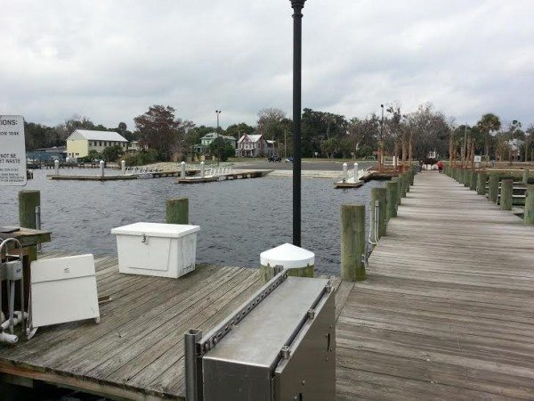 Palatka City Dock Pumpout