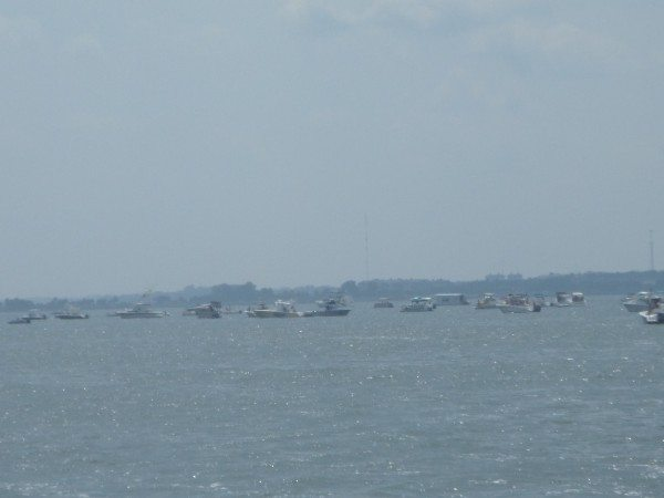 Fishing Boats at the Mouth of Manatee Pocket