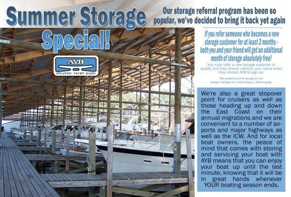 Summer Storage special 2016