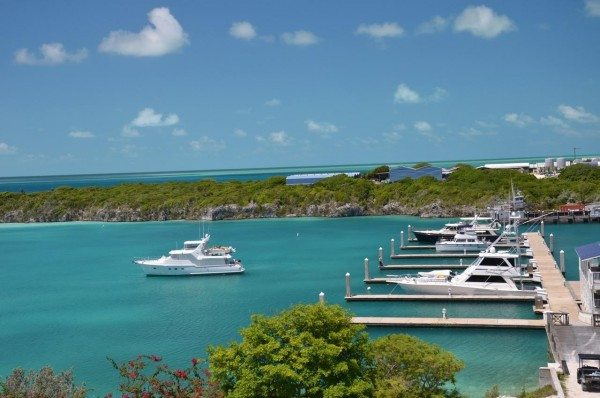 The docks at Cave Cay.