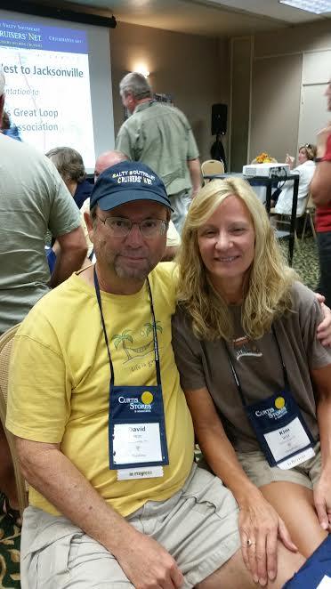 Loopers David and Kim Witt